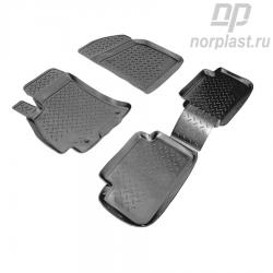 Car floor mats for ZAZ Sens (2007) set