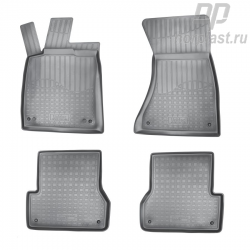 Car floor mats for Audi A6 (2011) (4G:C7) set