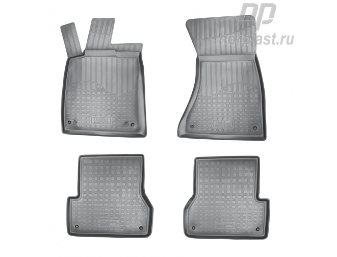 Car floor mats for Audi A6 (2011) (4G:C7) set