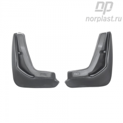 Mudflaps for Ford Focus III (2013) HB (rear) pair