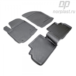 Car floor mats for Chery M11 set
