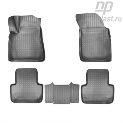 Car floor mats for Audi Q7 (2015) (4M) 3D (5 seats) set
