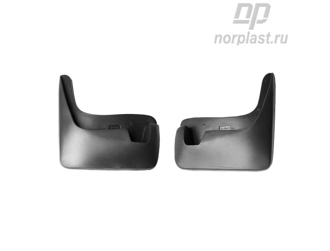 Mudflaps for Chevrolet Aveo (2013) (SD,HB) (front) pair