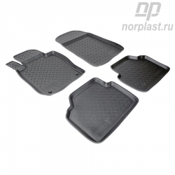 Car floor mats for BMW 3 (2005-2010) (E90) set