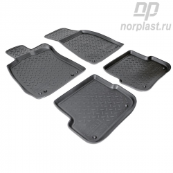 Car floor mats for Audi A6 (2004-2011) (4F:C60) set