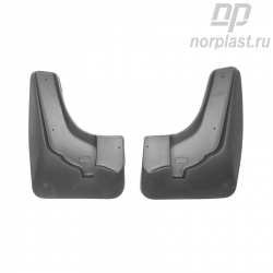 Mudflaps for Changan Eado (2011) SD (front) pair