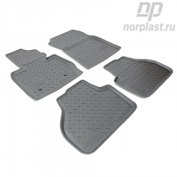 Car floor mats for BMW X3 (2010) (F25) set