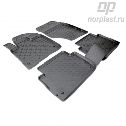 Car floor mats for Audi Q7 (2005) (4LB) set