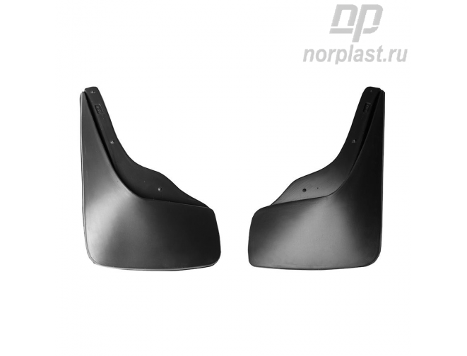 Mudflaps for Chevrolet Aveo (2013) HB (rear) pair