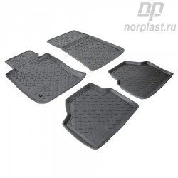 Car floor mats for BMW X1 (2009) (E84) set