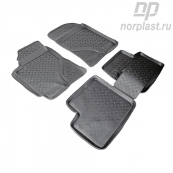 Car floor mats for BYD F-3 (2005) set