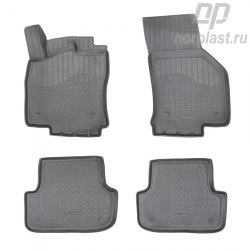 Car floor mats for Audi A3 (2012) (8V/8VA) 3D set