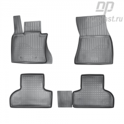 Car floor mats for BMW X5 (2013) (F15) set