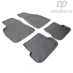Car floor mats for Audi A4 (2001-2007) (B6:8E/B7:8E) set