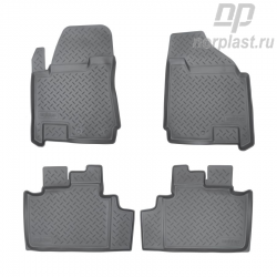 Car floor mats for Cadillac SRX (2010) set
