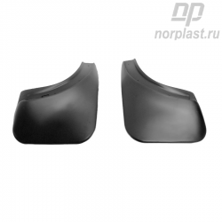 Mudflaps for Volkswagen Touareg (2010) (rear) pair