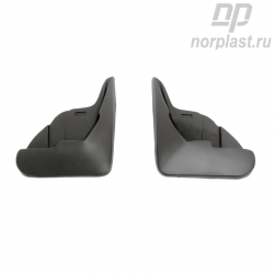 Mudflaps for Citroen C4 (2010) HB (front) pair