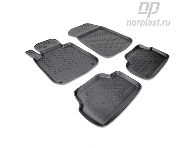 Car floor mats for BMW 1 (2004-2011) (E87,E81) set