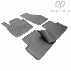 Car floor mats for Audi Q3 (2011) (8U) set