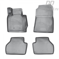 Car floor mats for BMW X4 (2014) 3D set