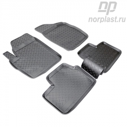 Car floor mats for Chery Kimo set