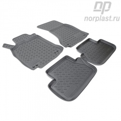 Car floor mats for Audi A4 (2007) (B8:8K) set