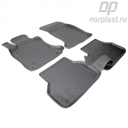 Car floor mats for BMW 5 (2003-2010) (E60) set
