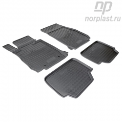 Car floor mats for BMW 1 (2011) (F20,F21) set