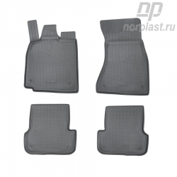 Car floor mats for Audi A7 (2010) (4G:C7) set
