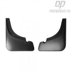 Mudflaps for Geely Emgrand EC7 (2011) (front) pair