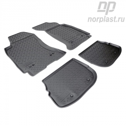 Car floor mats for Audi A4 (1995-2001) (B5:8D) set