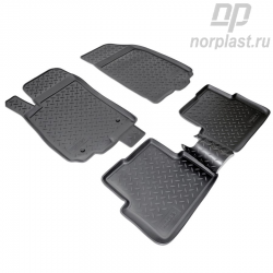 Car floor mats for Chevrolet Aveo (2011) set