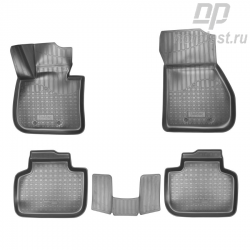 Car floor mats for BMW X1 (2015) (F48) 3D set