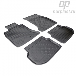 Car floor mats for BMW 5 (2010-2013) (F10) set