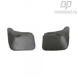 Mudflaps for Fiat Albea (2002) (front) pair