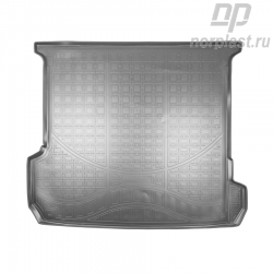 Trunk liners for Audi Q7 (2015) (4M) 7 seats, (3rd row folded down) pce