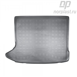 Trunk liners for Audi Q3 (2011) (8U) pce