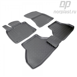 Car floor mats for BMW X6 (2008) (E71) set