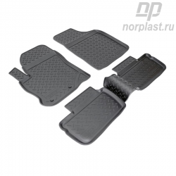 Car floor mats for Chery Indis (2011) set